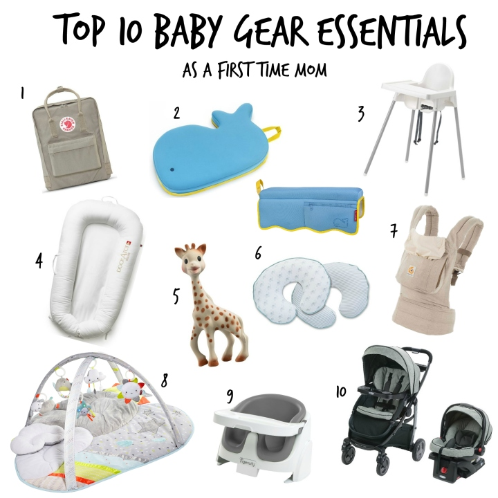 Top 10 Baby Gear Essentials as a First Time Mom